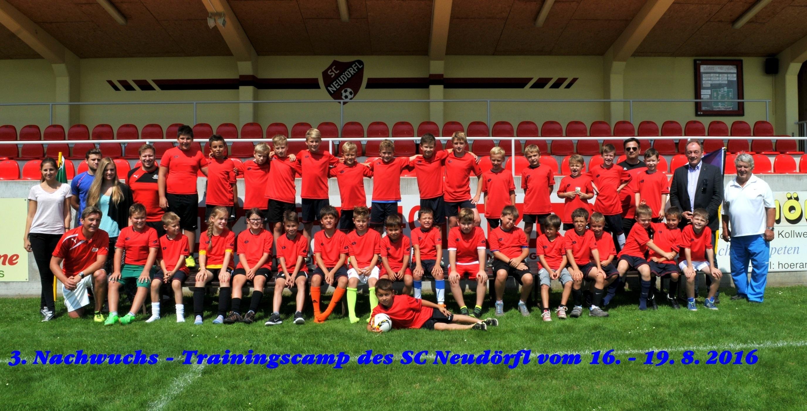 Trainingscamp SC Neudörfl